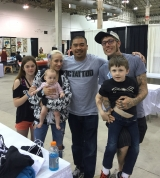 <h5>Body Art Expo - Chicago 2015</h5><p>Eddie Tana with Joko Tattoos and his family!! Great meeting new friends when we do tattoo convention </p>