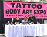 <h5>Body Art Expo - Chicago 2015</h5><p>Eddie Tana, Ryan along with the Kai doing the the tattoo of the day on the last day. </p>