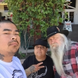 <h5>Element Tattoo Supply at Musink 2015</h5><p>A photo of Eddie Tana, Victor Reyna, and Rick Walters at Musink 2015 having our lunch taking a break tattoo convention are a lot of work.</p>